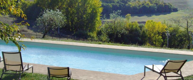 L'emozione di vere vacanze natura in Umbria a le torri di Porsenna